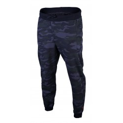 Spodnie męskie ze ściągaczem moro model 304