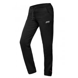 Spodnie sportowe damskie czarne Model 101