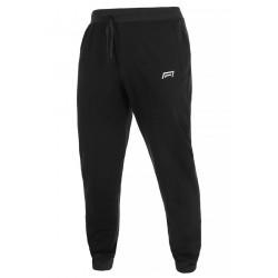 Spodnie męskie ze ściągaczem model 304 czarne