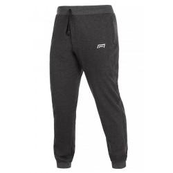 Spodnie męskie ze ściągaczem model 304 grafit